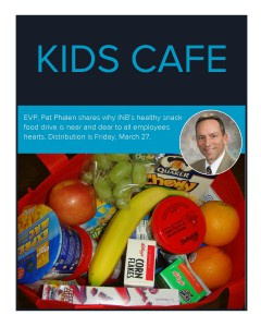Kids Cafe distribution - blog