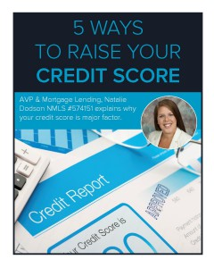 5 ways to raise your credit score - blog