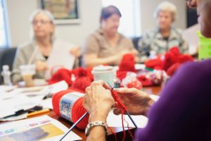 South branch knitting and crochet session