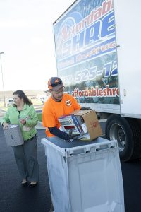 Wabash branch shred event