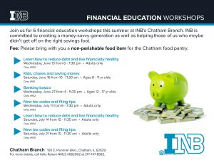 Financial education chatham