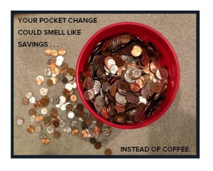 Pocket Change; blog art