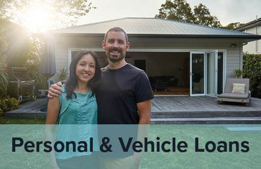 Personal and vehicle loans